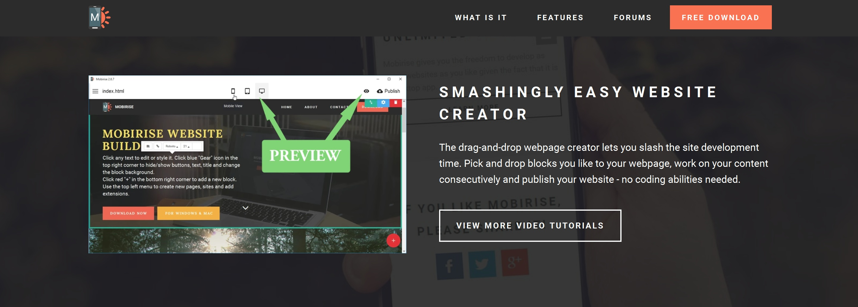 Bootstrap Web Page  Creator Review