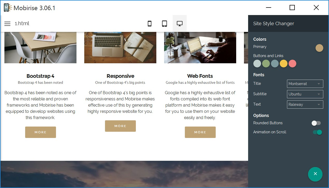 HTML Responsive Web Page Creator Review
