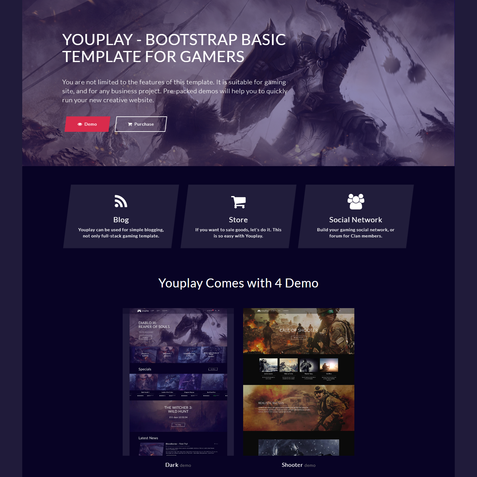 Free Download Bootstrap Basic Templates