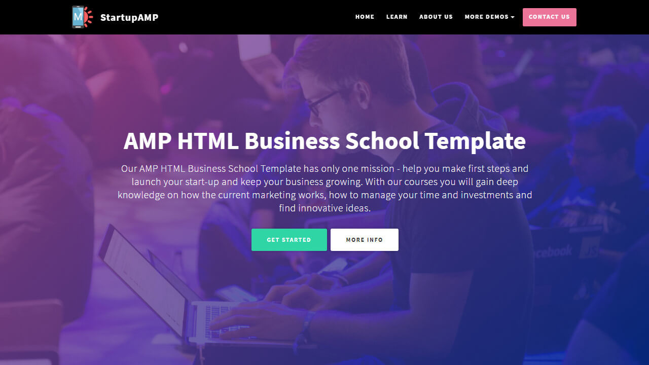 Supreme Bootstrap Landing Page Templates Overview - Bootstrap landing page template